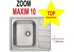 Nerezový dřez Alveus Zoom Maxim 10