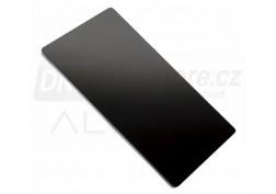 Krájecí skleněná deska Alveus černá