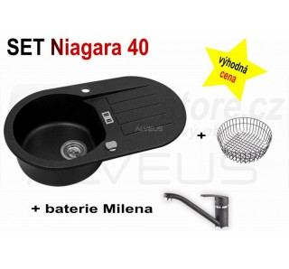 SET Alveus Niagara 40 + Milena + deska
