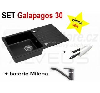 SET Alveus Galapagos 30 + Milena + deska