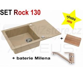 SET Alveus Rock 130 + Milena + deska