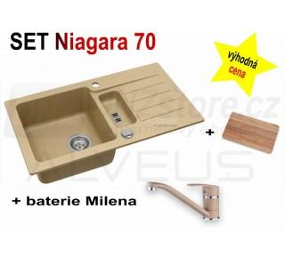 SET Alveus Niagara 70 + Milena + deska