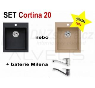 SET Alveus Cortina 20 + Milena + čistič