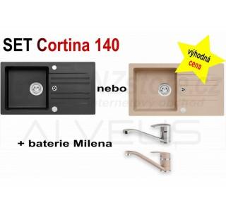 SET Alveus Cortina 140 + Milena + čistič