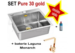 SET nerezový dřez Alveus Pure 30 + Laguna Monarch + DÁREK zdarma