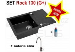 SET granital (G+) dřez Alveus Rock 130 + BATERIE různé druhy