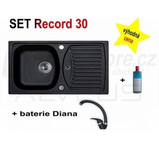 SET Alveus Record 30 + Diana + čistič
