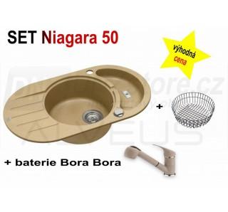 SET Alveus Niagara 50 + Bora Bora + deska
