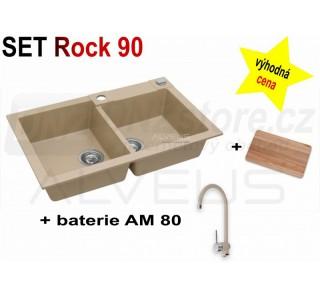 SET Alveus Rock 90 + AM 80 + deska