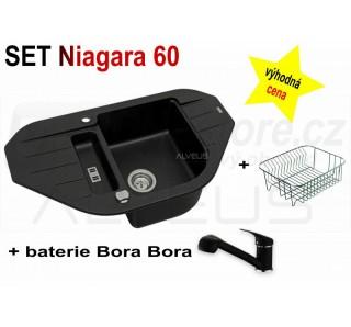 SET Alveus Niagara 60 + Bora Bora + deska