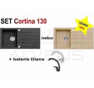 SET Alveus Cortina 130 + Diana + čistič