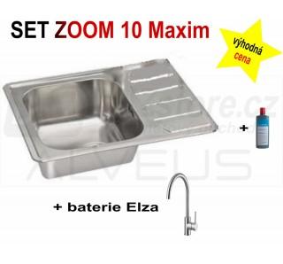 SET Alveus Zoom Maxim 10 + Elza + čistič