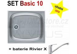 SET alveus Basic 10 + Riviera X