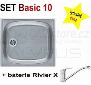 SET Alveus Basic 10 + Riviera X