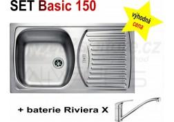 SET alveus Basic 150 + Riviera X