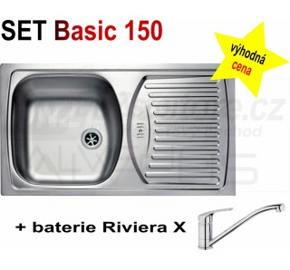 SET Alveus Basic 150 + Riviera X