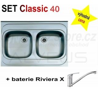 SET Alveus Classic 40 + Riviera X