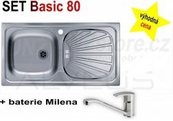 SET Alveus Basic 80 + Milena